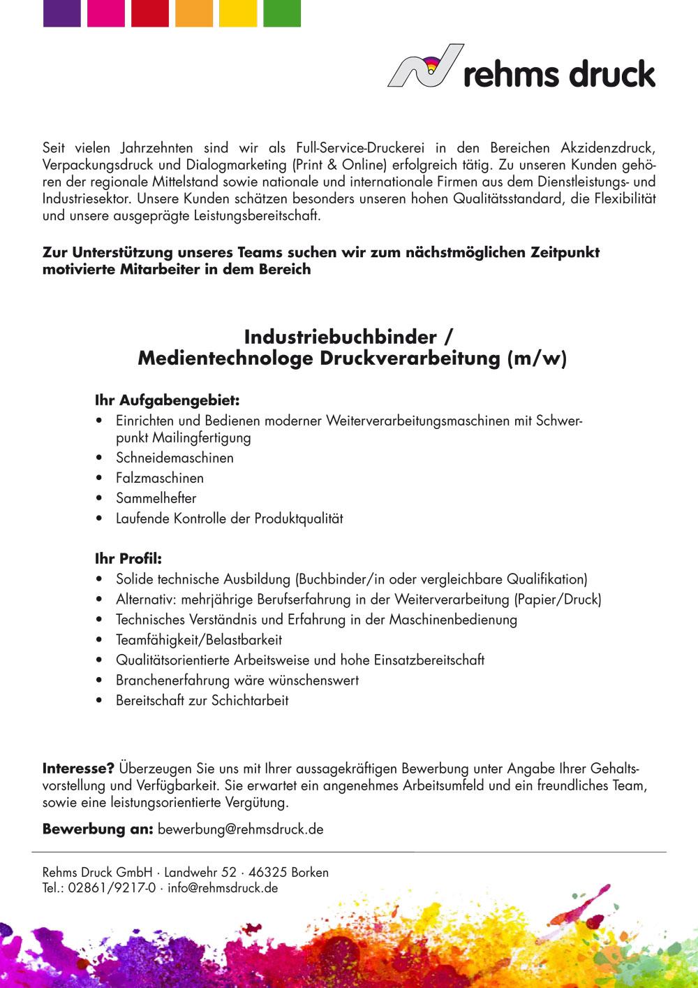 infos maschinenfhrer - Bewerbung Als Maschinenfhrer
