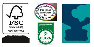 Rehms Druck Zertifikate